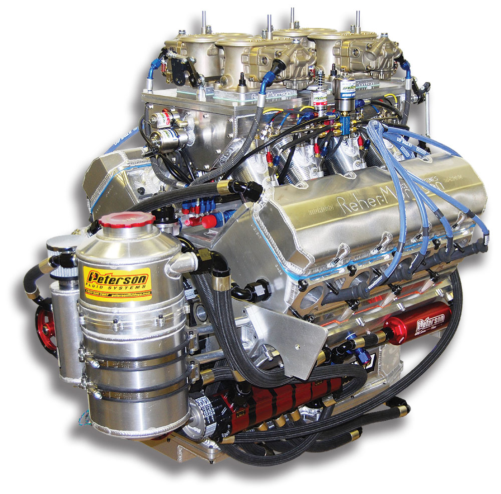 872 Ci 5 3 Bore Spacing Engines Reher Morrison Racing