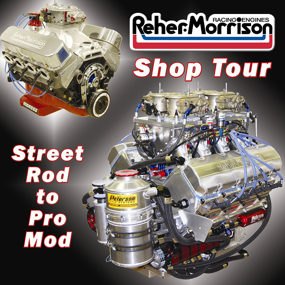 Reher-Morrison Racing Engines Shop Tour