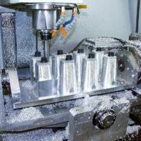 CNC machining billet intake manifold runners