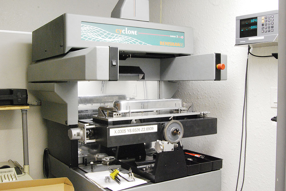Digitizing components for CNC machine