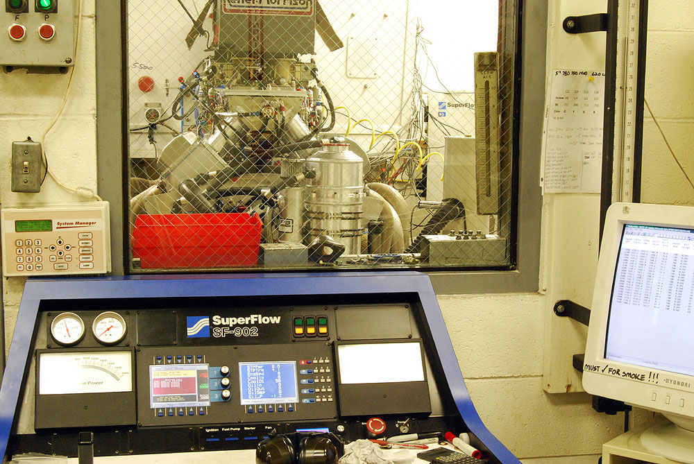 All RMRE engines are dyno tested to insure performance parameters