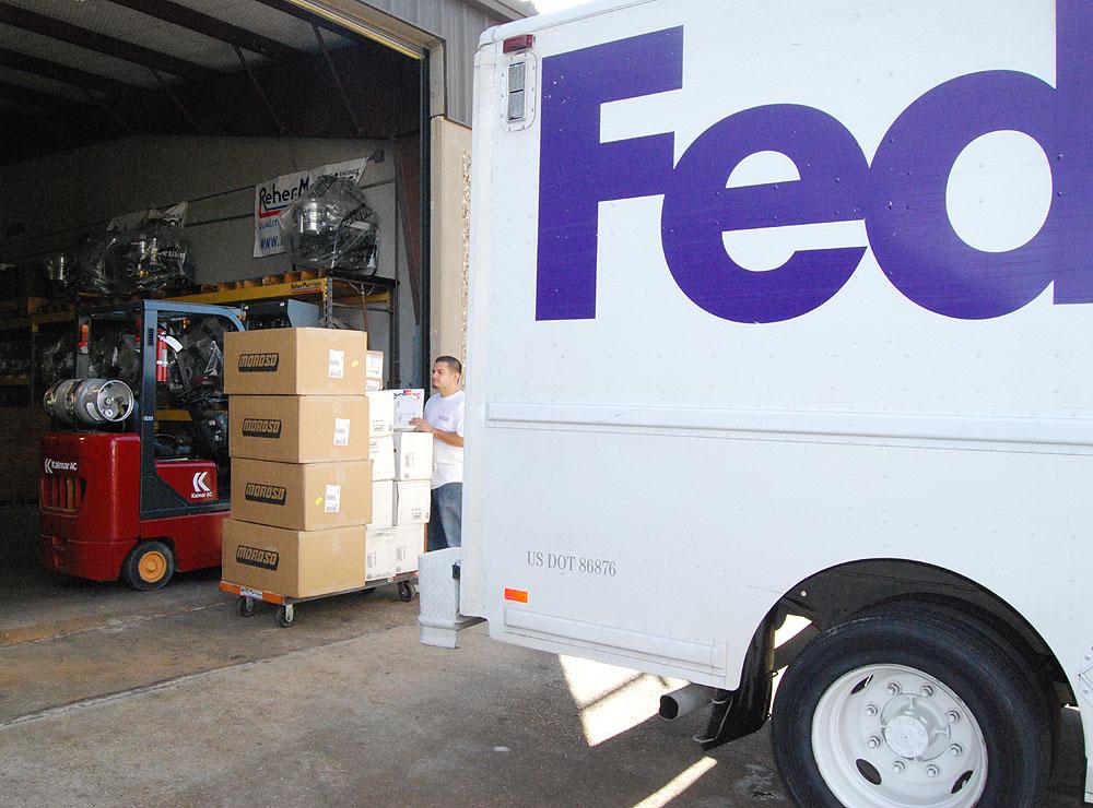 Worldwide shipping & receiving