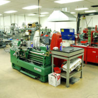 Precision machine shop equipment