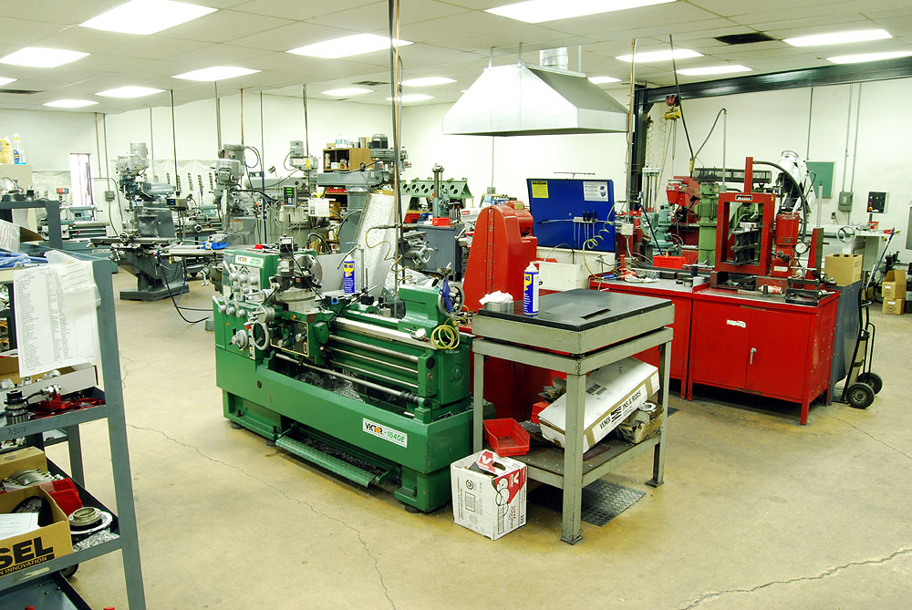 Precision machine shop equipment reher morrison racing for Parlour equipment